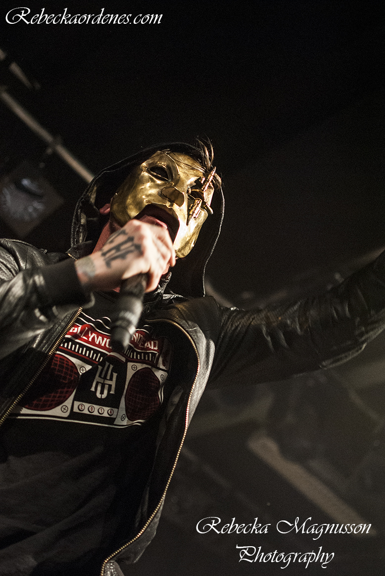 Hollywood Undead - Brewhouse, Göteborg, 141113